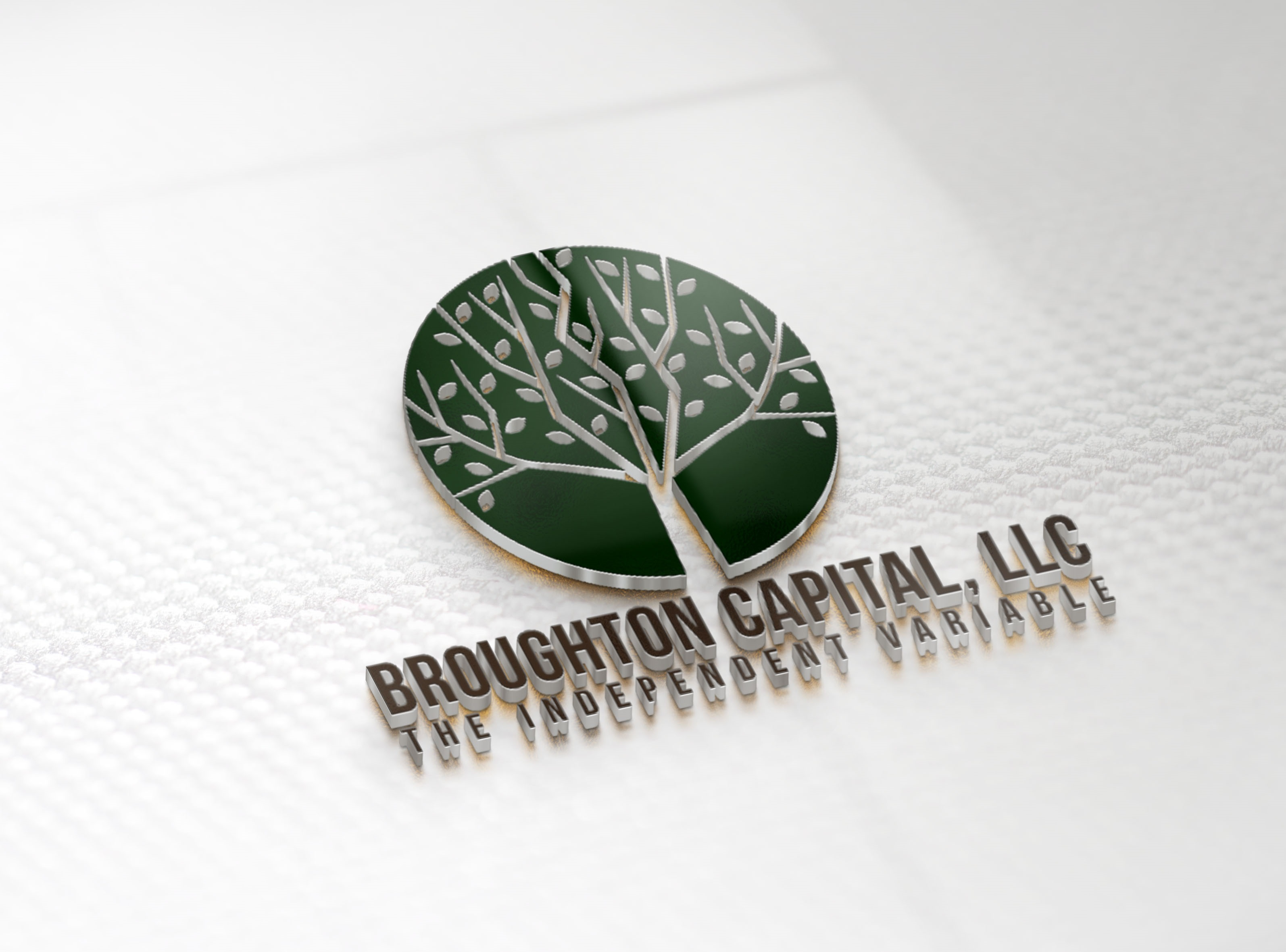 Broughton Capital 3D logo